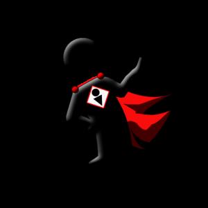 FOIMan logo in stop position