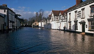 Flooded towns are nothing new, so organisations should take appropriate precautions