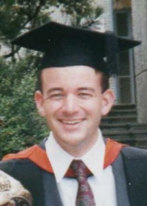 Picture of my Masters graduation