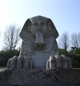 A sphinx in Crystal Palace Park