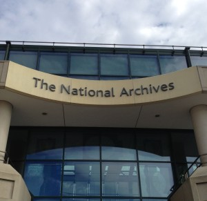 The National Archives in Kew, south-west London