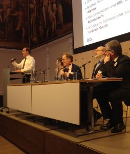 Simon Hughes MP on a panel with the Information Commissioner and others at the ICO's recent event celebrating 10 years of FOI