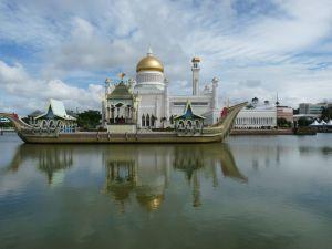 The Omar Ali Saifuddien Mosque, Brunei