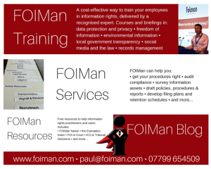 New FOIMan Home Page