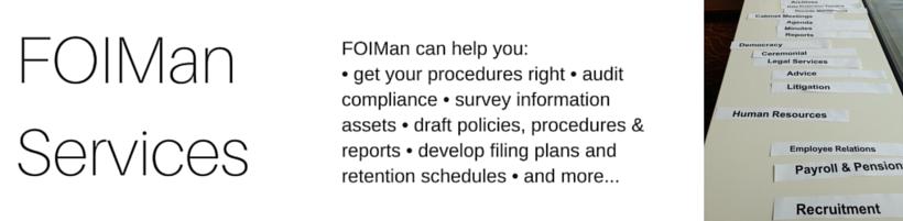 FOIMan Consultancy Services