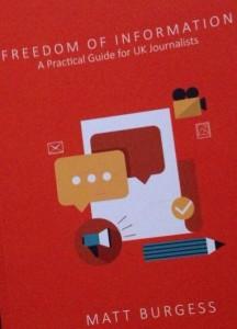FOI book by Matt Burgess