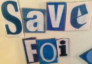 Save FOI