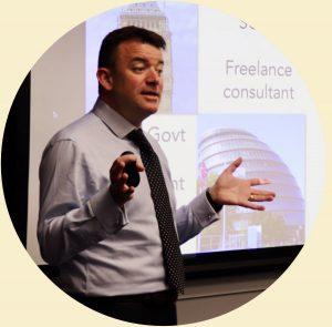 Paul presenting