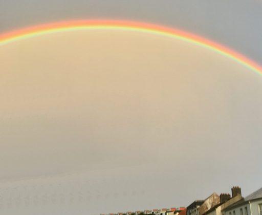 A rainbow in Antrim